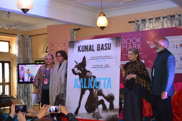 Kalkatta the winning cover -Alka Pande, Namita Gokhale, Aman Nath and Maina Bhagat