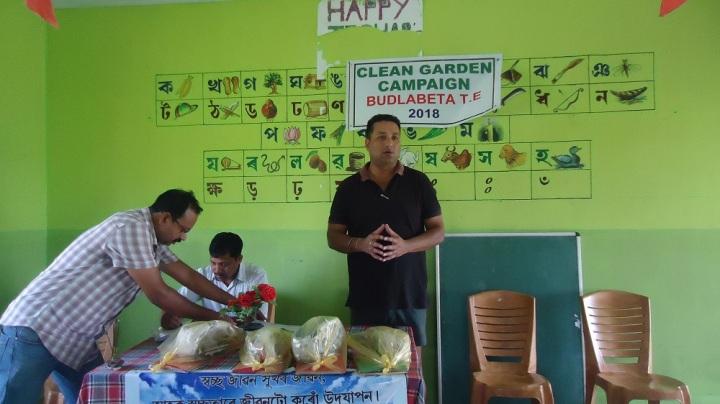 Clean Garden Campaign at Budlabeta..Pic 2